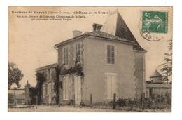 85 VENDEE - MAREUIL Environs, Château De La Serrie, Ancienne Demeure De Clémenceau De La Serrie (voir Descriptif) - Mareuil Sur Lay Dissais