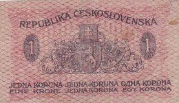 Billet  -  Tchécoslovaquie -  1 Koruna 1919 - Czechoslovakia