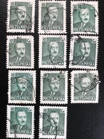 Polska - Poland - P2/5 - (°)used - 1950 - Michel Nr. 672 - President Boleslaw - Sellos