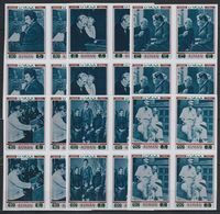 O24. 4x Ajman - MNH - Famous People - Schweitzer - Imperf - Persönlichkeiten