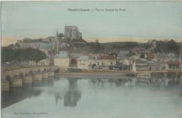 Montrichard (Loir-et-Cher - 41) - Vue En Amont Du Pont. Carte Postale En Couleurs. Imp. Blondeau - Renaud Succr - Montrichard