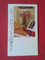 SPAIN TARJETA ESTAMPA RELIGIOSA RECORDATORIO RELIGIOSO CARD FELICITACIÓN RELIGIÓN BODAS ORO SACERDOTE SEVILLA PRIEST.... - Religion &  Esoterik