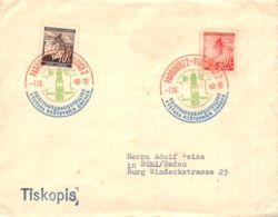 SST 7.IX.40 Briefmarkenausstellung Böhmen U.Mähren Sammlerbeleg - FDC