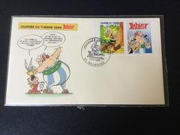 N°3225B : Astérix + Vignette Sur FDC - FDC