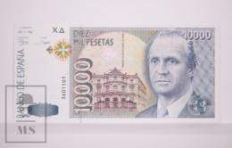 Banknote Spain - 10000 Pesetas - October 1992 - Juan Carlos I, King Of Spain - No Letter Series - Condition UNC - [ 4] 1975-… : Juan Carlos I