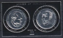 O24. Manama - MNH - Famous People - Heroes - Silver - Wholesale - Persönlichkeiten