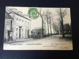 CP Florenville : Avenue De La Station 1907 . Très Belle - Florenville