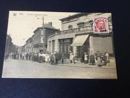 CP Gilly : Carte Animée De La Chaussée De Ransart (Haies) En 1924 - Charleroi