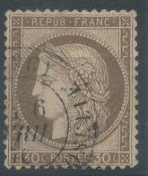 Lot N°57737  Variété/n°56, Oblit Cachet à Date De Nancy, Meurthe-et-Moselle (52), Filet NORD - 1871-1875 Ceres