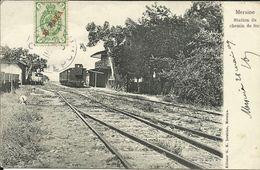 MERSINE ( Mesrin ) , Station Du Chemin De Fer , 1904 - Turquia