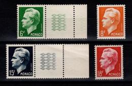 Monaco - YV 365 à 368 N** Complete Cote 20 Euros - Monaco