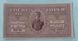 (4).. India Inde .Jaipur Court Fee Stamp - Jaipur