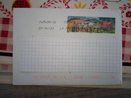 57e Salon International De L'agriculture ( 2020 )  0.97 Eur Oblitéré Sur Enveloppe - 2010-... Illustrated Franking Labels