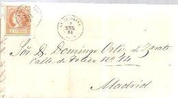 CARTA 1861   LA CAROLINA - Storia Postale