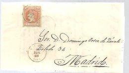 CARTA 1860   LA CAROLINA  JAEN - Storia Postale