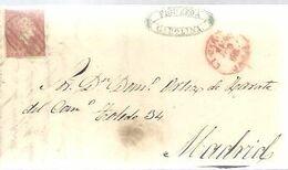 CARTA 1868   LA CAROLINA  JAEN - Storia Postale