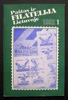 Lithuanian Magazine/ Paštas Ir Filatelija Lietuvoje No. 1 1992 - Libri, Riviste, Fumetti