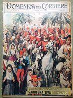 La Domenica Del Corriere 3 Giugno 1961 Sardegna Mtc Totò Loren Birgitta Gardner - Sonstige