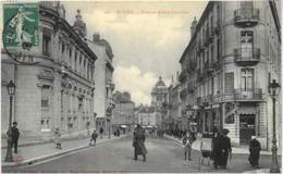 Cpa BOURG 01 - 1909 - Avenue Alsace Lorraine N° 140 B. Ferrand éditeur - Bourg-en-Bresse