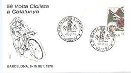 POSTMARKET ESPAÑA  1976 - Cycling
