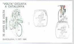 POSTMARKET ESPAÑA  1986 - Cycling