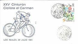 POSTMARKET ESPAÑA  1981  LOS REALEJOS - Cycling
