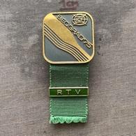 Badge Pin ZN009422 - Rowing Kayak Canoe Yugoslavia Serbia Belgrade Beograd World Championship 1975 RTV - Remo