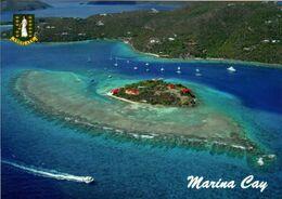 1 AK British Virgin Islands * Blick Auf Die Insel Marina Cay - Eine Insel Der British Virgin Islands In Der Karibik * - Vierges (Iles), Britann.