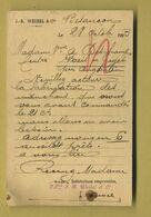 25 Besançon Weibel JB ( Oblitération Besançon Chaprais Octobre 1903 ) - Besancon