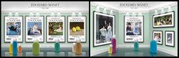 TOGO 2015 - E. Manet - YT CV=41 €, 4902-5 + BF1088 - Impresionismo