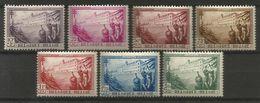 Belgique - N°356/362 * -  Sanatorium La Hulpe - Unused Stamps