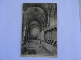 CPA  43  CHANTEUGES Eglise Romane Du XII è Siècle Stalles Gothiques De 1510  1912 TBE - Sin Clasificación