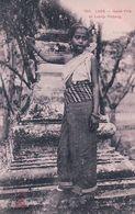 Indochine, Laos, Jeune Fille De Luang-Prabang (1302) - Laos