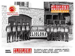 PHOTO RIGIDE, GRAND CALITE, TEAM ELIOLONA 1969 15,5 X 21 - Cycling