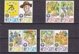 Kenia Nº 702 Al 709 - Kenia (1963-...)
