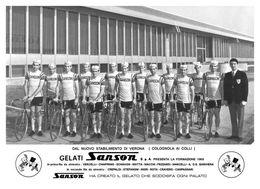 PHOTO RIGIDE, GRAND CALITE, TEAM SANSON 1969 15 X 21 - Cycling