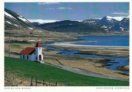 1 AK Island /Iceland * Kirche Von Myrar * - IJsland