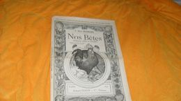 PROSPECTUS OU PUBLICITE ANCIENNE DE 1895...NOS BETES ANIMAUX UTILES ET NUISIBLES..Dr HENRI BEAUREGARD..1 PLANCHE SPECIME - Advertising