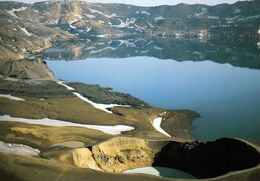 1 AK Island * Der Viti-Krater Und Der See Öskjuvatn - Sie Gehören Zum Vulkansystem Krafla In Der Nähe Des Myvatn Sees * - IJsland