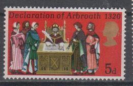 GREAT BRITAIN 1970 DECLARATION OF ARBROATH - 1952-.... (Elisabetta II)