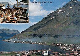 1 AK Island / Iceland * Blick Auf Die Stadt Seyðisfjörður, Sie Liegt Im Osten Von Island * - IJsland