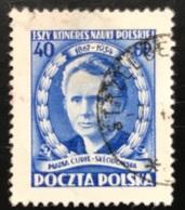 Polska - Poland - P2/5 - (°)used - 1951 - Michel Nr. 695 - Wetenschapperscongres - 1944-.... Republic