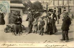 FRANCE - Carte Postale - Petits Métiers  - Paris - Marchande De Jouets Automatiques - L 66439 - Petits Métiers à Paris