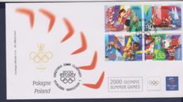 Poland FDC 2000 Sydney Olympic Games (NB**LAR9-165M) - Verano 2000: Sydney