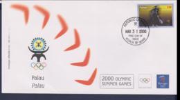 Palau FDC 2000 Sydney Olympic Games (NB**LAR9-165M) - Verano 2000: Sydney