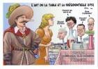 VEYRI Bernard   -  L ART DE LA TABLE  -   24° SALON DE BERGERAC  2012  -  TIRAGE LIMITE A 100 EX CARTE PIRATE - Veyri, Bernard