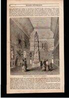 Article Coupure De Presse 2 Page(s) 2 Gravure(s) Année 1847 Paris Louvre Musée Naval - Non Classificati