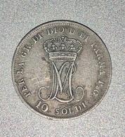 10 SOLDI MARIA LUIGIA 1815 PARME TB - Monnaies Régionales