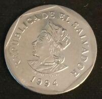 EL SALVADOR - 1 COLON 1994 - KM 156b - Salvador