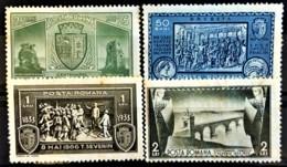 ROMANIA 1933 - MLH - Sc# 429-432 - Unused Stamps